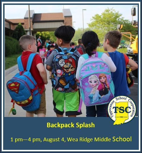 TSC to host Backpack Splash