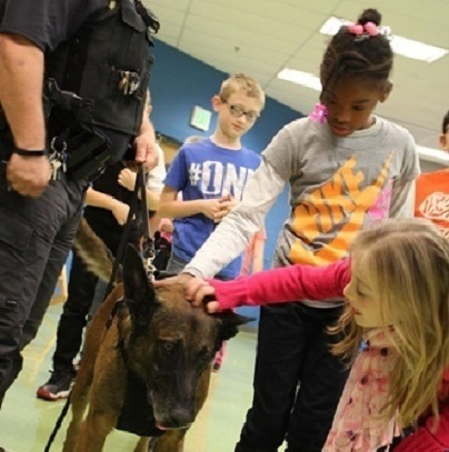 Woodland donates to protect K-9 officer