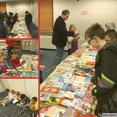 Woodland Students Benefit from Barnes & Noble Book Drive